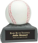 Baseball - Colored Resin Trophy Baseball Trophy Awards
